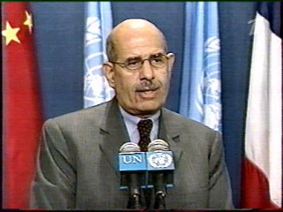 ElBaradei Reports to the UN