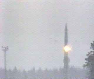 ICBM Topol Launched from Plesetsk site
